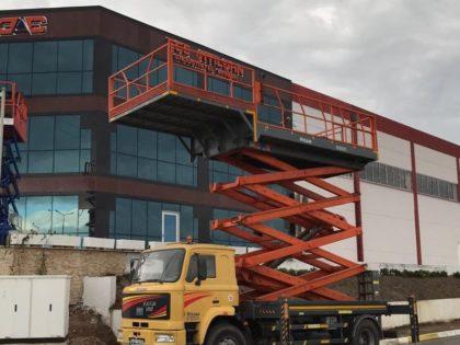 Araç Üstü Mobil ve Bina Önü Sabit Makaslı Liftler